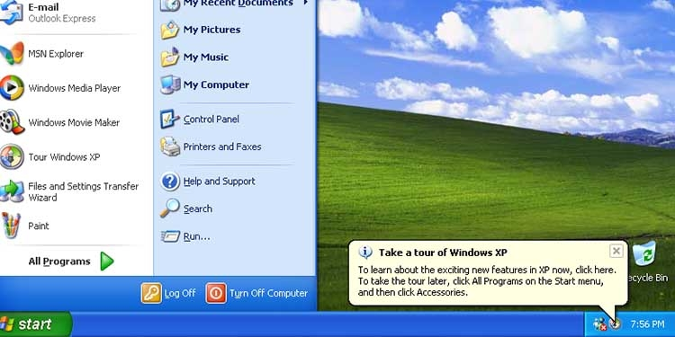 Addio a Windows XP