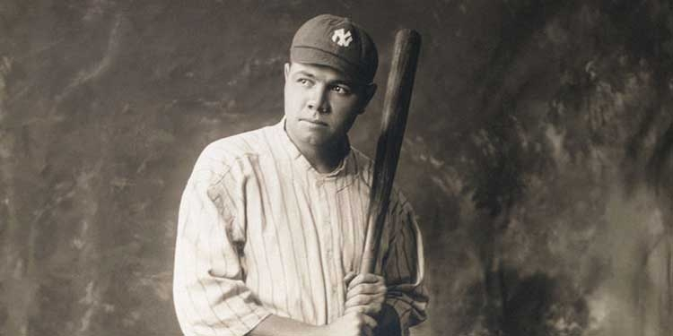 Babe Ruth debutta nella major league di baseball