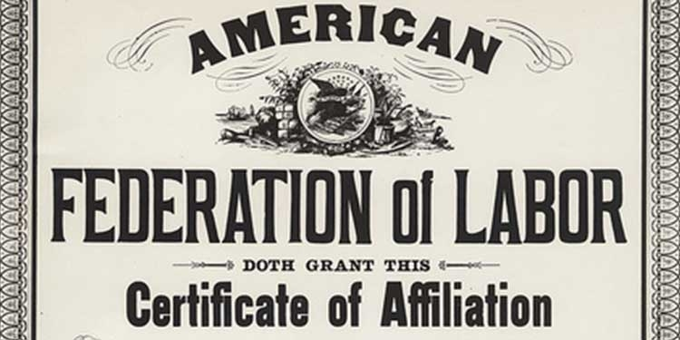 Fondata l'American Federation of Labor