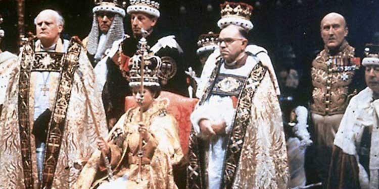 accadevaoggi incoronazione della regina elisabetta ii